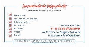 Comenzó el Congreso Online de Lanzamiento de Infoproductos